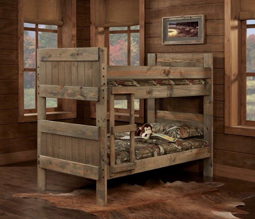 Simply Bunk Beds Twin Twin Mossy Oak Panel Bunk Bed Mikes Rent To Own