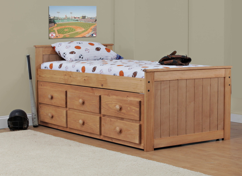 Simply Bunk Beds Twin Captain S Bed