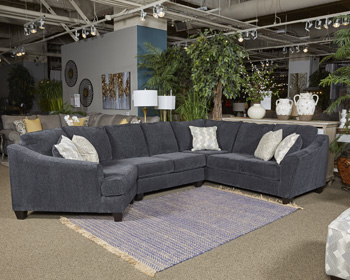Eltmann Contemporary Sectional Lounger Mikes Rent