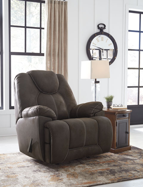 Ashley Warrior Fortress Rocker Recliner Mikes Rent Own