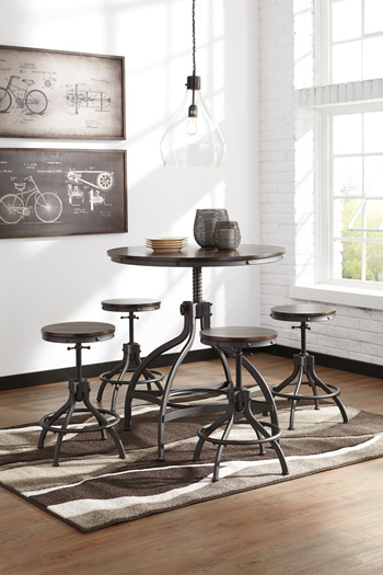 Odium Counter Table Set Mikes Rent To Own