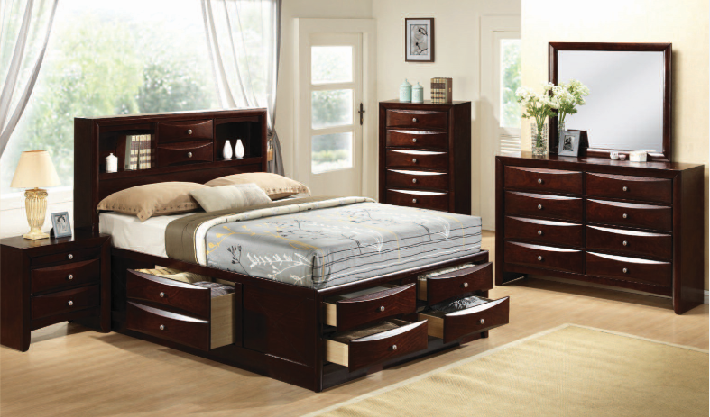 Emily Bedroom Set | Mikes Rent To Own