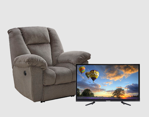 Ashley Furniture Recliner 43 Dled Hisense 1080p Tv Mikes Rent