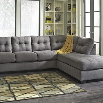 Ashley Maier <br/> Charcoal Sectional